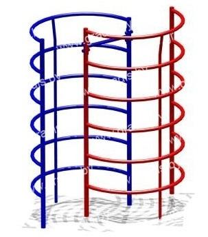 819 Спираль вертикальная