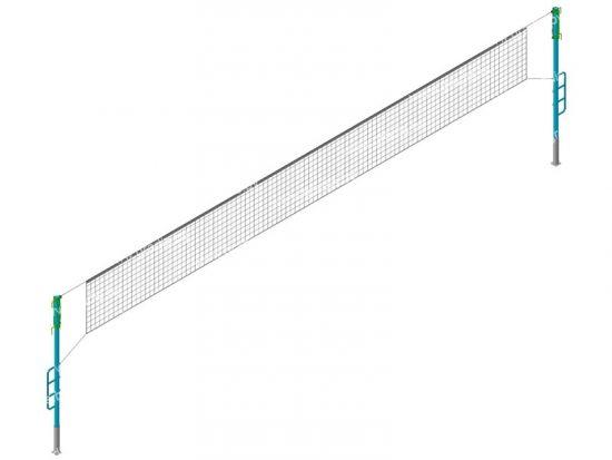 Стойки волейбольные (без сетки) С01.2.462