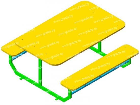 1103 Стол-скамья