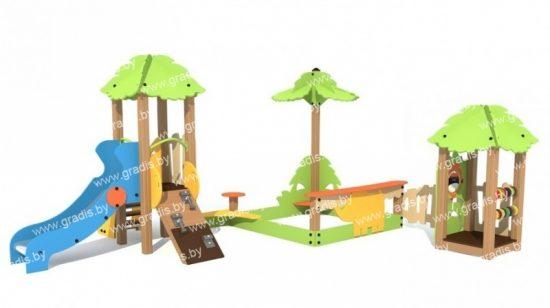 312-01 Песочный дворик Джунгли